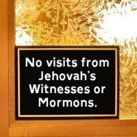 Does Scripture Instruct Us Not To Let Jehovah's Witnesses And Mormons Into Our Homes?